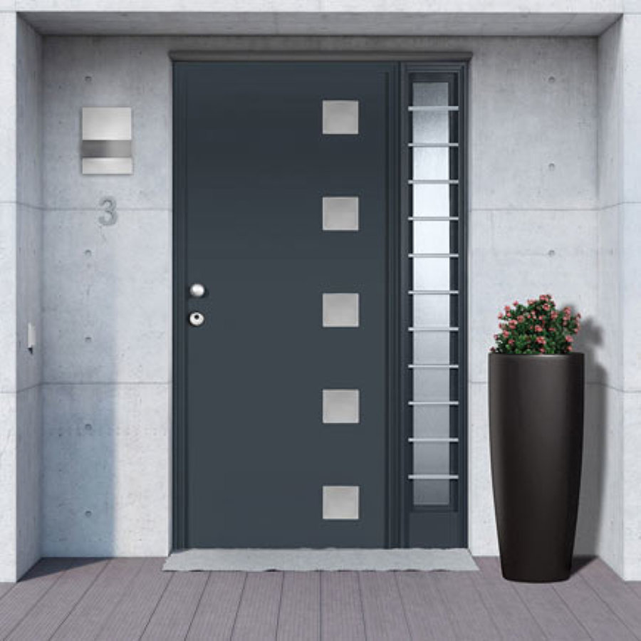Presupuesto instalar puerta de seguridad online habitissimo for Puertas metalicas