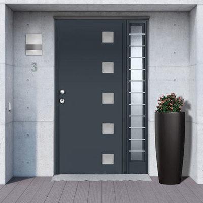 C mo instalar una puerta de seguridad claves y precio - Puertas metalicas para exteriores ...