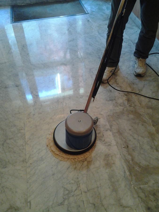 Pulido de suelo