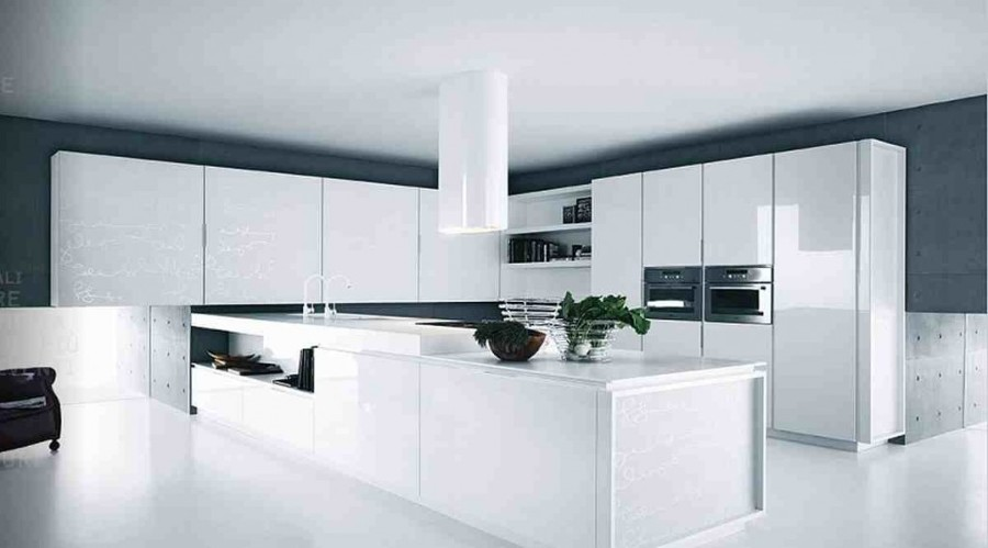 Reforma minimalista de la cocina
