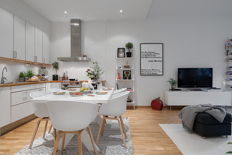 Reforma para abrir la cocina al salón