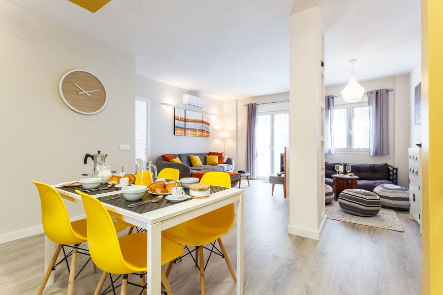 Reforma para conseguir un piso moderno y luminoso