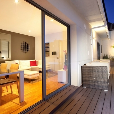 Reformar la terraza para unirla al salón