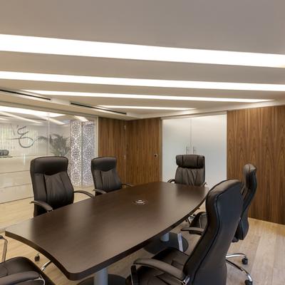 Reformas en la iluminación de la oficina