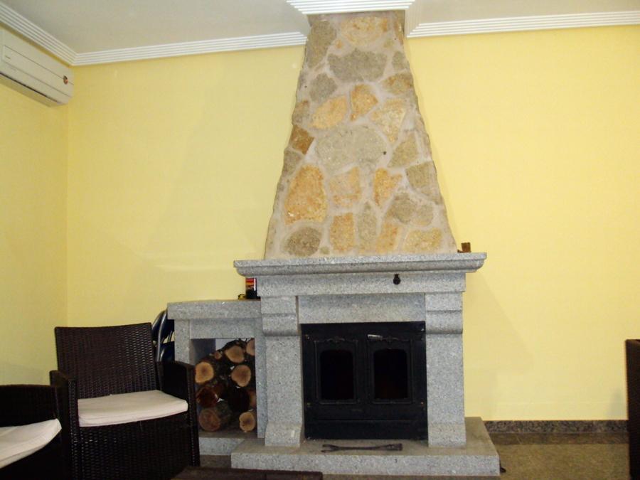 Reformas en una chimenea