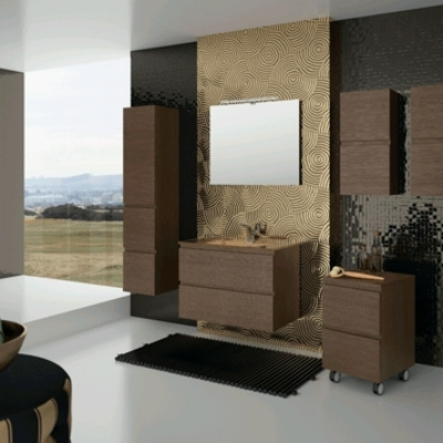 El mobiliario del baño