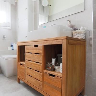 Renovar el almacenamiento del baño