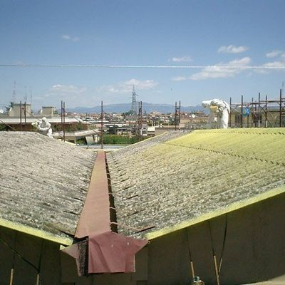Retirar tejado de amianto