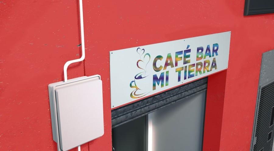 Rótulos sin iluminación (foto de rotulowcost.es)