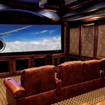 Hacer una sala de cine en el sótano