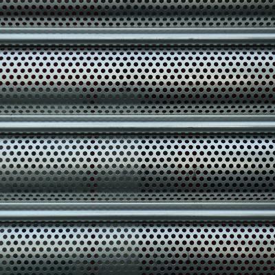 Persianas de seguridad de aluminio