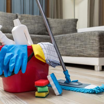 Limpieza de vivienda después de obra