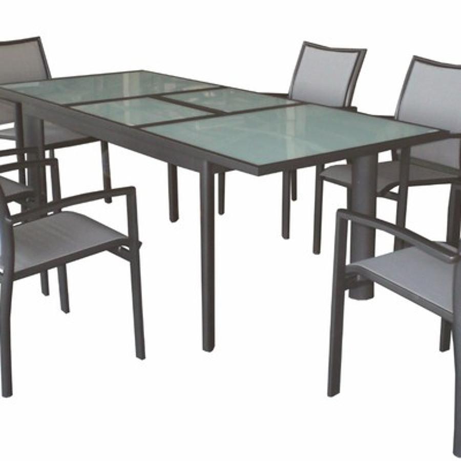 Presupuesto mueble exterior aluminio online habitissimo - Mesas de jardin de aluminio ...