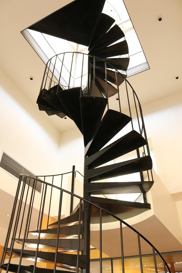 Abrir el espacio para una escalera
