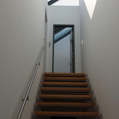 Pintar el tiro de la escalera o el pasillo