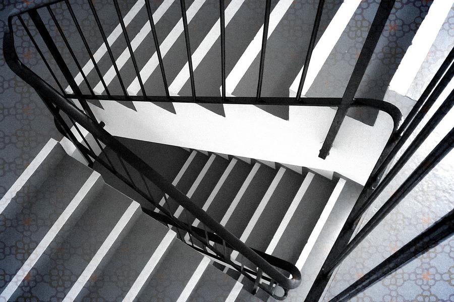 Pintar las escaleras