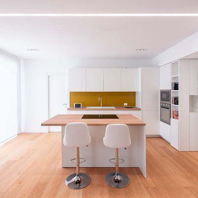 Suelos de madera o laminados para cocina