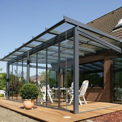 Techos de cristal para porches