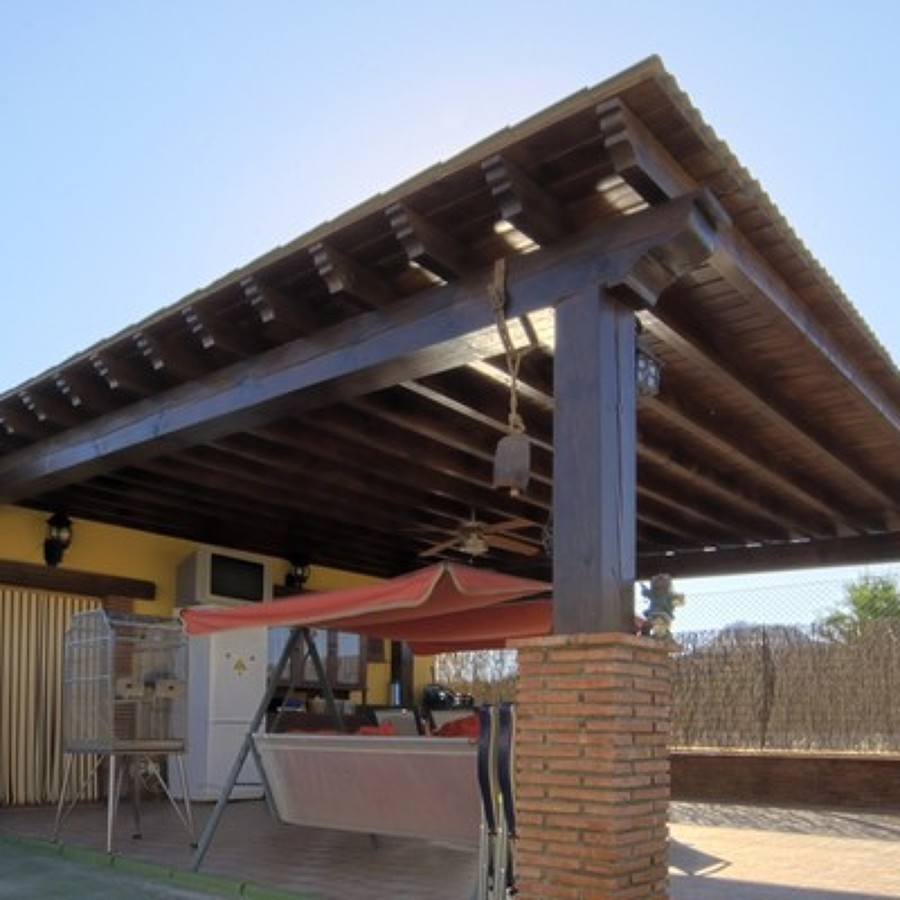 Presupuesto tejados online habitissimo for Tejados de madera modernos