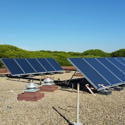 Termosifón solar con intercambiador