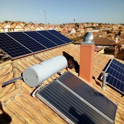 Termosifón solar sin intercambiador