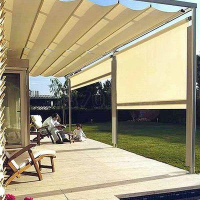 C mo instalar un toldo en un patio consejos y precios - Precio toldo terraza ...