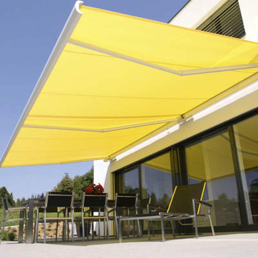 Telas para toldos de terraza dise os arquitect nicos for Toldo lateral para terraza