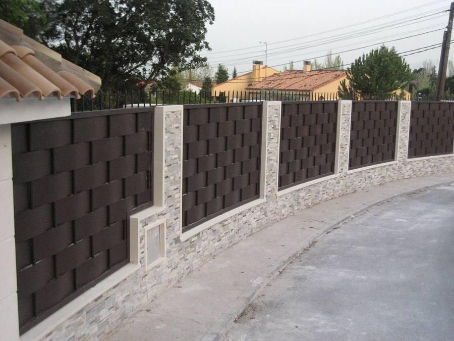 Presupuesto vallar parcela online habitissimo for Casas de chapa para jardin