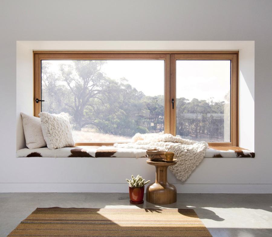 El sistema de apertura de cada ventana