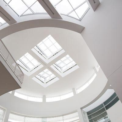 Lucernarios o techos fijos