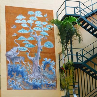 Pinturas para murales exteriores