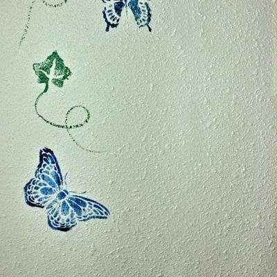 Pintura y estarcido