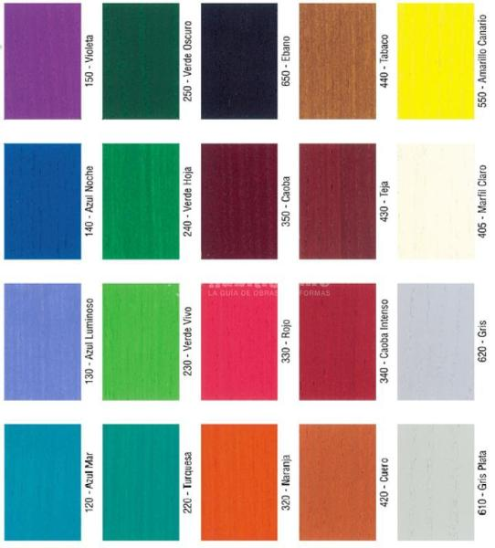 Catalogo de colores de pintura imagui - Muestrario de colores de pintura ...