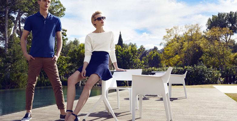sillas y mesas terraza