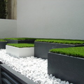 Jardineras metalicas