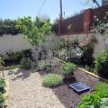 Jardin a base de áridos decorativos