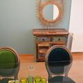 Salón-comedor Böho diseño