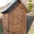 Caseta jardín 2x1,5 metros