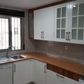 cocina lacada blanca diseño