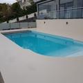 piscina revestido en microcemento
