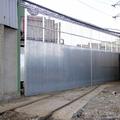 25- Puerta grandes dimensiones para acceso ferrocarril