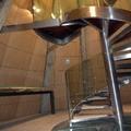27- Escalera de caracol acero inoxidable Torre del Pilar de Zaragoza