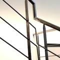 5- Detalle barandilla interior acero inoxidable