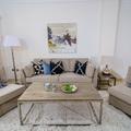 sofa mod  mediterraneo con modulos a juego