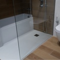 Ducha de baño reformada