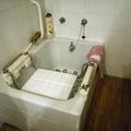 7. bañera antes de la instalación