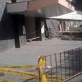 Acceso de entrada urgencia hospital en Valencia