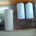 Acumulador Solar  y Agua sanitaria