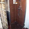 alicatado y ducha de obra