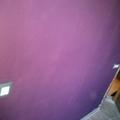 Alisado de pared con gotele y pintado